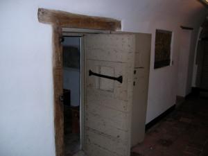 De cel waar Maartje in zit