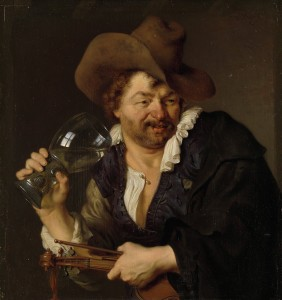 De vrolijke speelman (foto: Wikipedia)