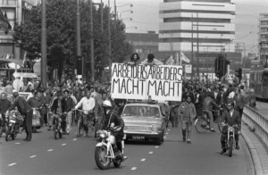 Havenstaking 1970 - Foto: Eric Koch, Nationaal Archief