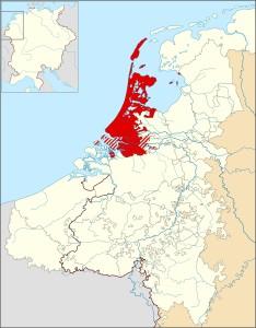 Graafschap Holland 1350 (afbeelding: Wikipedia)