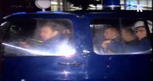 Marieniers opgepakt bij Rotterdam Centraal. Beelden: Vergeten Verhalen - TV Rijnmond