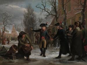 Egbert van Drielst en Adriaan de Lelie: Krayenhoff in Frans uniform bij zijn vertrek uit Maarssen op zondagochtend 18 januari 1795