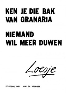 Copyrights Loesje