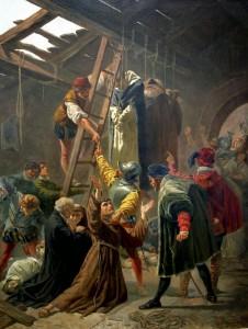 Aprili naar Fracassini, De martelaren van Gorinchem (afbeelding: Wikipedia)