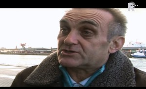 Wouter ten Braake. In 1970 was hij stakingsleider. Beeld: TV Rijnmond - Vergeten Verhalen