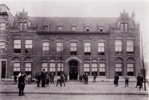 Joods weeshuis aan de Mathenesserlaan